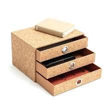 organiseur de bureau en bois rangement de bureau organiseur de bureau 3 tiroirs la redoute