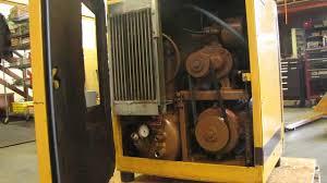 kaeser sigma sm 8 rotary air compressor 7 5 hp 230v 3 phase