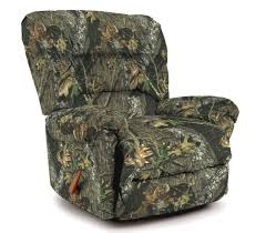 Youth Recliner Chairs Furniture Camo Recliner For Create Super Realistic Tone And