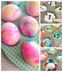 how to dye easter eggs using shaving cream isavea2z com