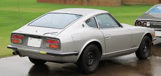 nissan datsun fairlady z file 1970 1973 nissan fairlady z rear jpg wikimedia commons