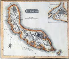 Map Curacao Curacao In The British Empire