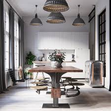 archiemons u2022 industrial style dining room design the essential