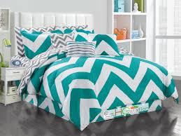 hg station 11 pc striated chevron zigzag reversible comforter