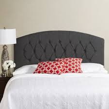 Curved Upholstered Headboard by Wood Curved Headboard Bed Wayfair