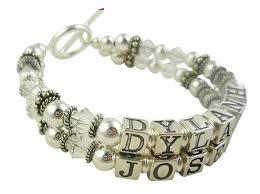 Mothers Bracelets With Names 8 Best Mother U0026 Grandmother Personalized Bracelet Gifts Images On