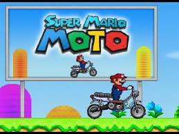 super mario bros moto kart gameplay super mario riding