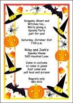 spooky birthday halloween invitations for all type parties