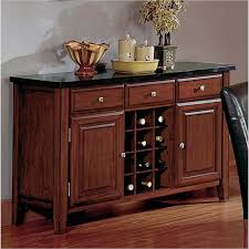 diy buffet table with wine rack u2014 new decoration attractive