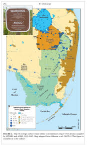 Everglades National Park Map Florida U0027s Secret Mercury Factory Big Sugar U0027s Sulfate Connection