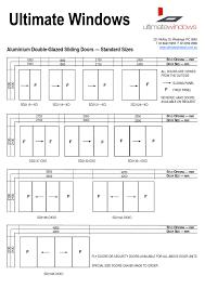 Storm Door For Sliding Glass Door by Typical Sliding Screen Door Size Sliding Doors