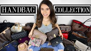 View Luxury Designer Bags My Designer Handbag Collection 2018 Youtube