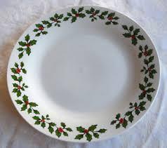 christmas plates royal norfolk berry 10 5 dinner christmas plates set of 4 ebay