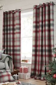 Plaid Curtain Material Plaid Curtains Free Home Decor Techhungry Us