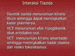 Obat Hct interaksi obat obat kardiovaskular ppt