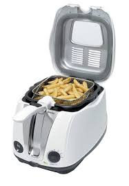 breville easy clean deep fryer white amazon co uk kitchen u0026 home