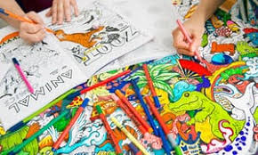 colouring books latest weapon stress