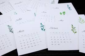 bureau qualité mini calendrier de bureau 2018 imprimé sur épais de