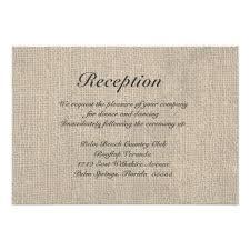 wedding sles wedding invitation reception card wording sles style by