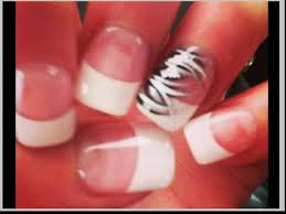 cute french nail designs gallery nail art designs