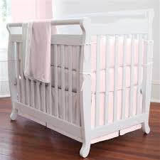 Solid Pink Crib Bedding Pink Portable Crib Bedding Solid Pink Mini Crib Bedding