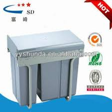 dustbin making materials kitchen cabinet pull out drawer waste bin