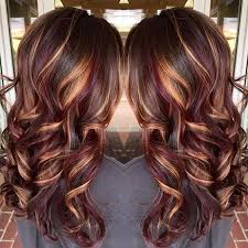 best summer highlights for auburn hair 25 best hairstyle ideas for brown hair with highlights dark red