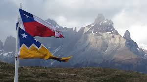 Chile National Flag Our Complete Route Santiago De Chile To Patagonia