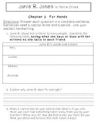 junie b jones worksheets worksheets
