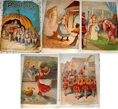 cinderella antique books images victorian cinderella book