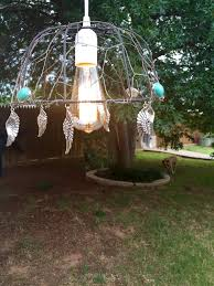Chicken Wire Chandelier Blue Jeans And Turquoise August 2015