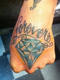 hand tattoo u2013 amazing diamond design tattooshunter com