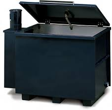 heated parts washer cabinet parts washer
