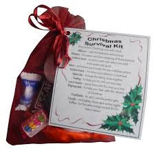 christmas survival kit great stocking filler or secret santa