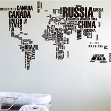 2016 new design letter world map quote removable wall stickers letter world map quote removable wall stickers living room home wallpaper tartan decor vinyl diy art in wall stickers from home garden on aliexpress com