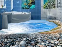 3d flooring wallpaper custom 3d floor