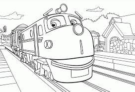 chuggington coloring pages coloringsuite