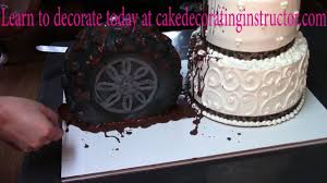 tire cake in buttercream cake decorating how to youtube