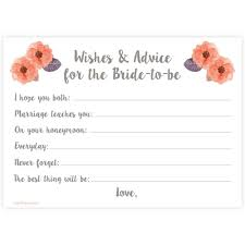 bridal shower words of wisdom cards ideas words for wedding shower card wedding shower wishes