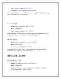 Profile In Resume Sample by Write Up Of Local Businesses