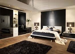 bedroom compact black furniture ideas plywood wall large cork