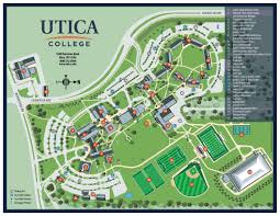 Usa Campus Map by Campus Map Utica College
