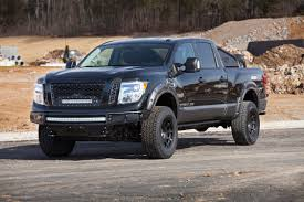 new nissan titan nissan dresses up new titan for winter thedetroitbureau com