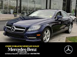 mercedes dealers in maryland used mercedes cls class for sale in baltimore md edmunds