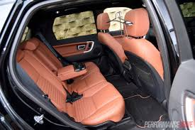 land rover discovery sport interior land rover discovery sport sd4 hse luxury review video