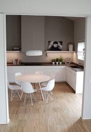 peinture grise cuisine cuisine blanche et peinture grise ambiance scandinave