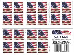 American Flag Specs U S Flag Sheet Of 20 Usps Forever First Class Postage Stamps