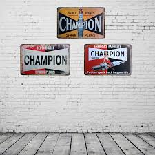 tin home decor vintage home decor chion vintage metal tin signs retro metal sign