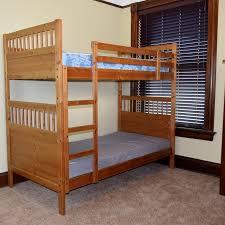 Ikea Bunk Bed Frame Ikea Hemnes Wood Bunk Beds Ebth