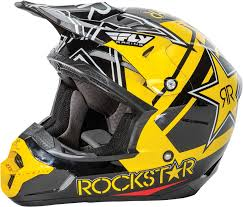 motocross helmets ebay fly racing kinetic pro rockstar helmet 2017 mx atv motocross